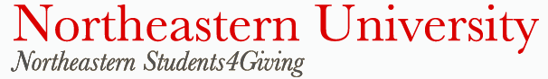 Northeastern Students 4 Giving