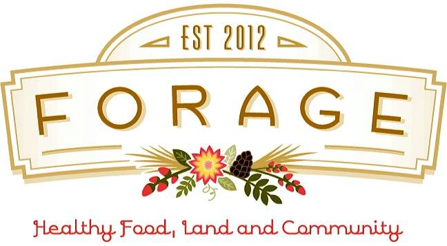 Forage Logo Tagline
