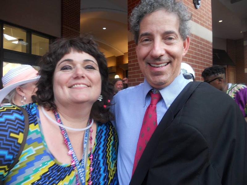 Lisa Martin and Jamie Raskin