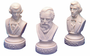 Composer Statuettes