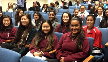 WIM Students at SF General
