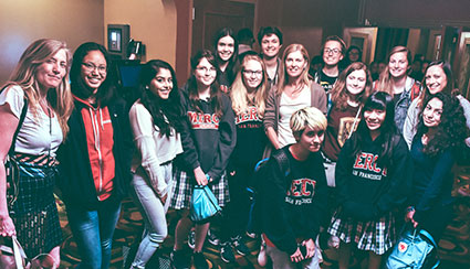 Witech and AP Art Students Meet Filmmakers