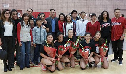 Senior Volleyball Night