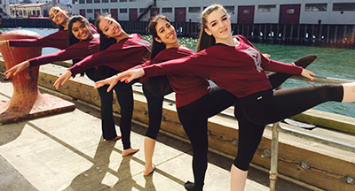 Dance Ensemble Performs at the Vision Series