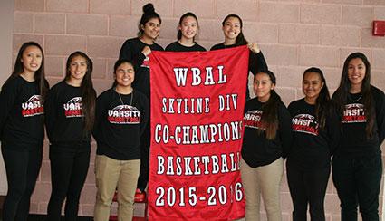 Mercy Varsity Basketball Team