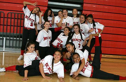 Mercy Softball Team