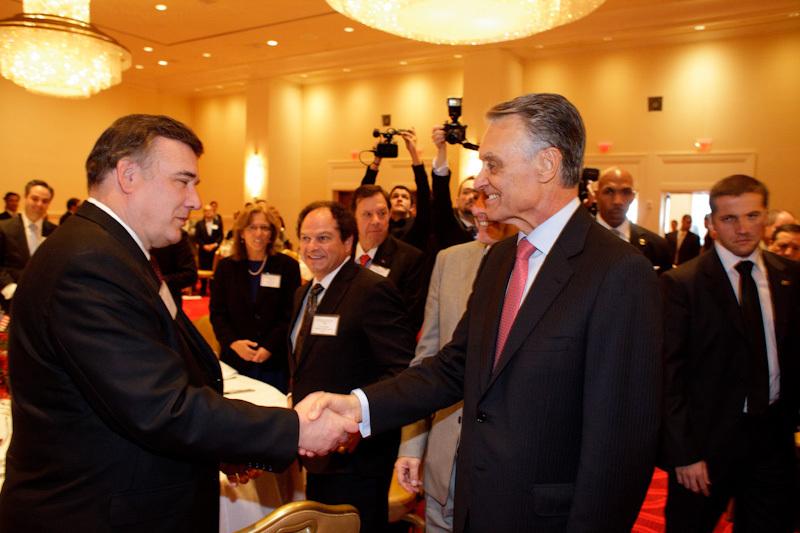 H.E. Cavaco Silva and Senator Pacheco