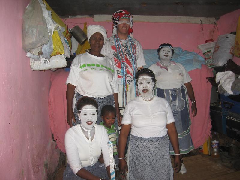 John & Sangoma Trainees