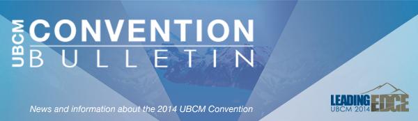 UBCM Convention Bulletin