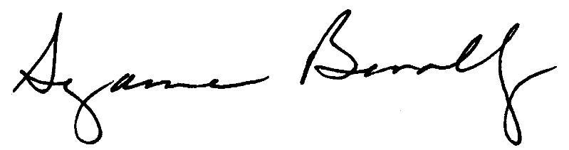 suzanne signature