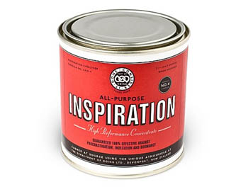 inspiration in a can