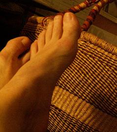 maundy thur foot