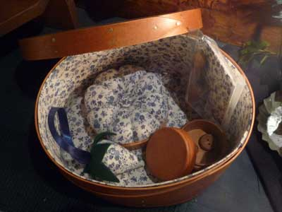 Oval Sewing Box