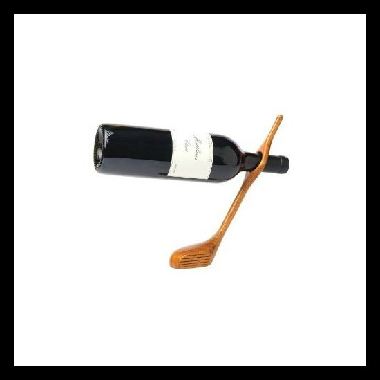 golf club wine holder