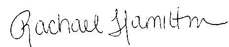 Rachael signature