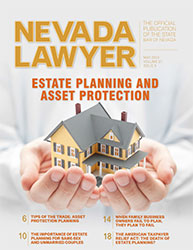 May 2013 Nevada Lawyer