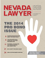 September Nevada Lawyer