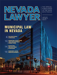 June Nevada Lawyer
