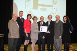 Justice Saitta Receives Law Day Award