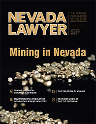 April 2013 Nevada Lawyer