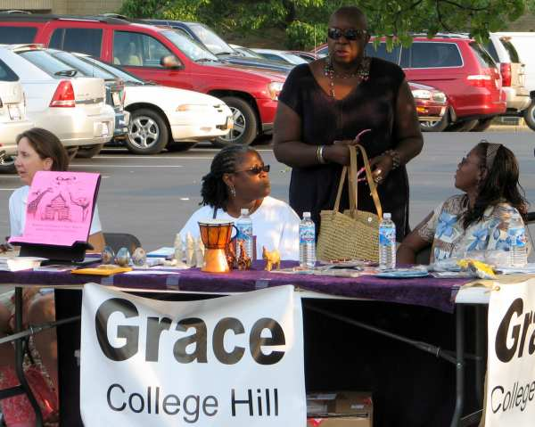 Grace Church Table at College Hill Block Party 2008