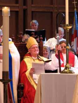 Bishop Breidenthal Seated