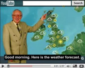 Anglican Chant Weather Forecast