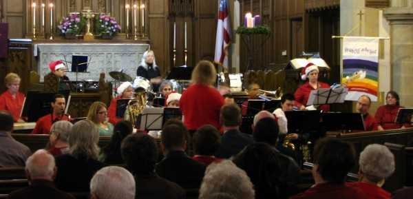 Queen City Rainbow Band Holiday Concert
