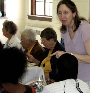 Belinda Perna at Ladies Luncheon