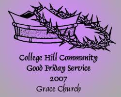Community Good Friday Service 2007 logo