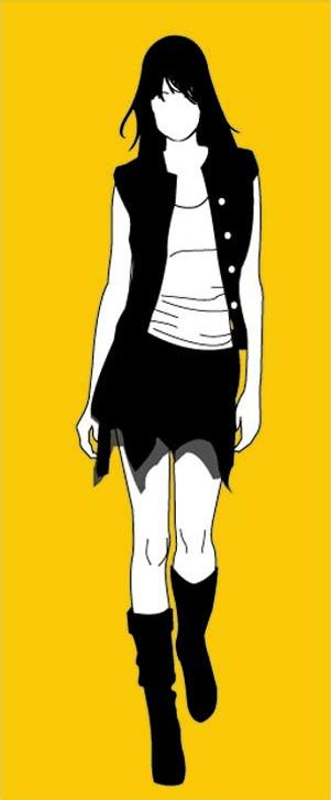 banner girl