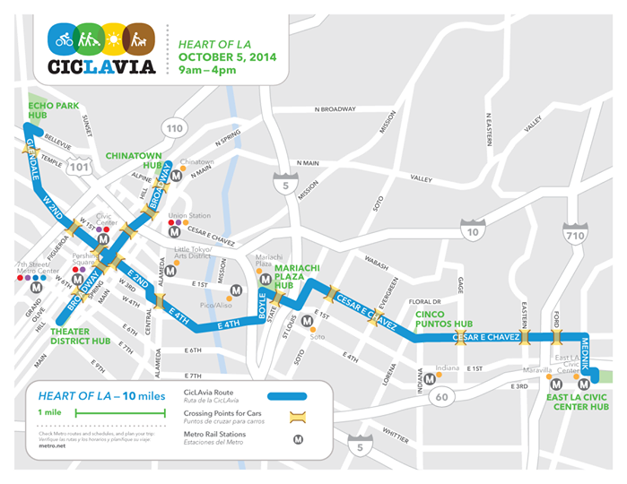 CicLAvia Coming to Broadway Sunday, October 5; LA Fashion ...