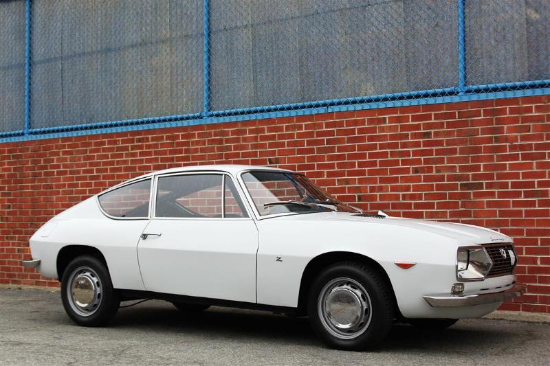 Lancia Fulvia in white