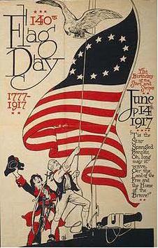 Banner for Flag Day