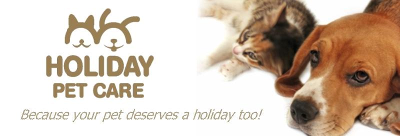 Holiday Pet Care Banner