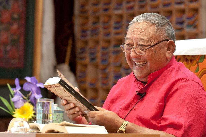 Rinpoche Kyabje Nyagre Khentrul Ngawang Gelek (Rinpoche Gelek) - (1939 - 2017)