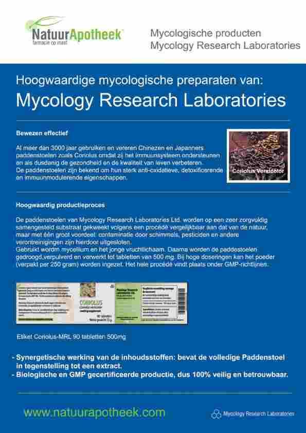 MRL brochure paddenstoelen