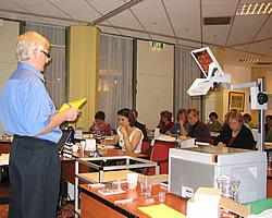 Jeremy Ross teaching