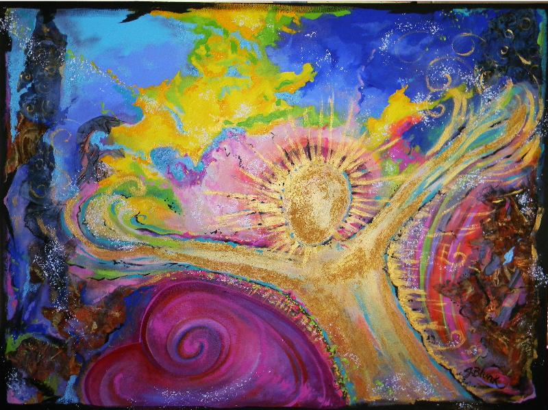 Unconditional Love painting