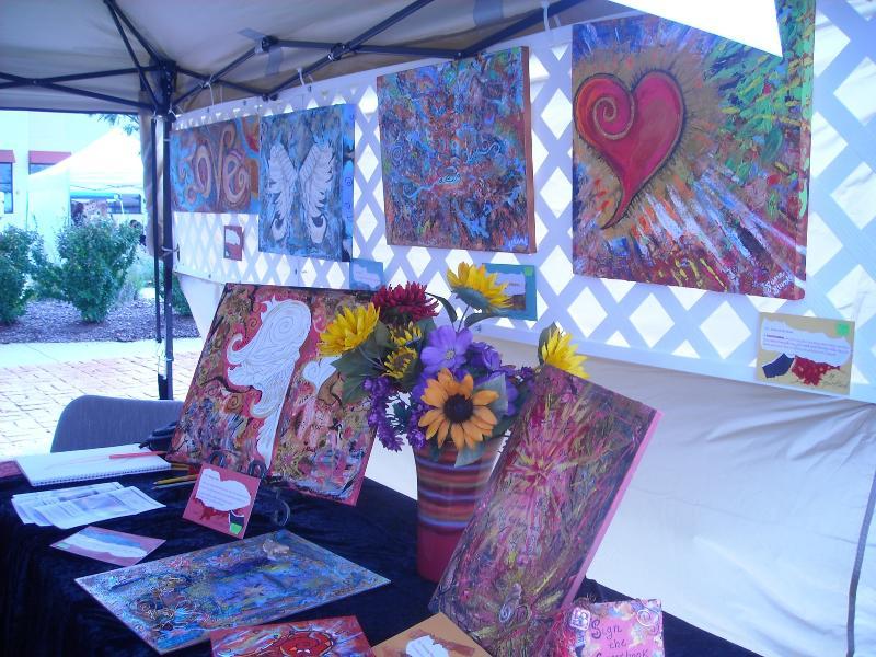 Outdoor artshow