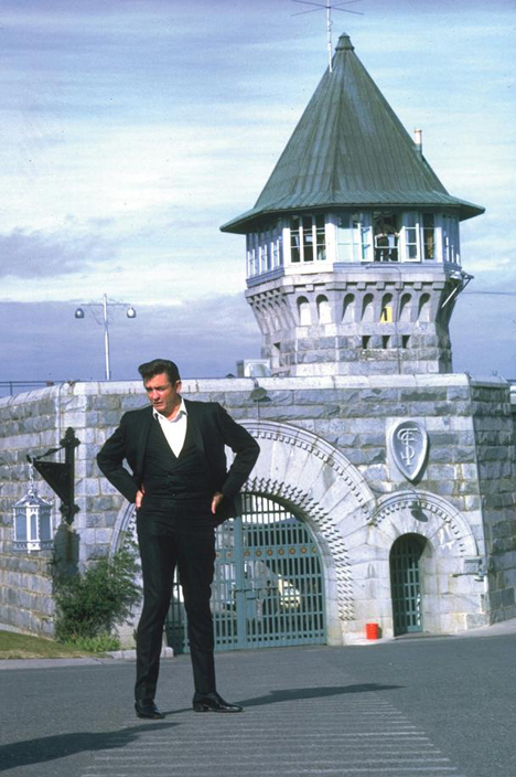 Folsom Maximum Security Prison - Johnny Cash Visit