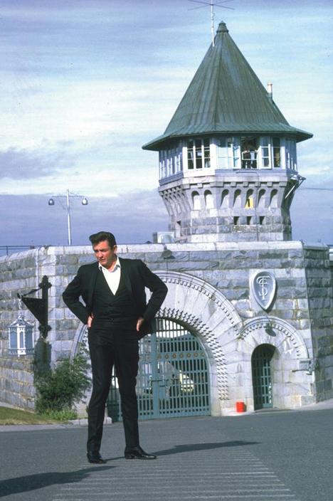 Folsom Maximum Security Prison - Johnny Cash Visit