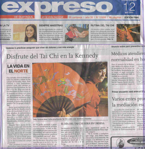 Ecuador National Newspaper