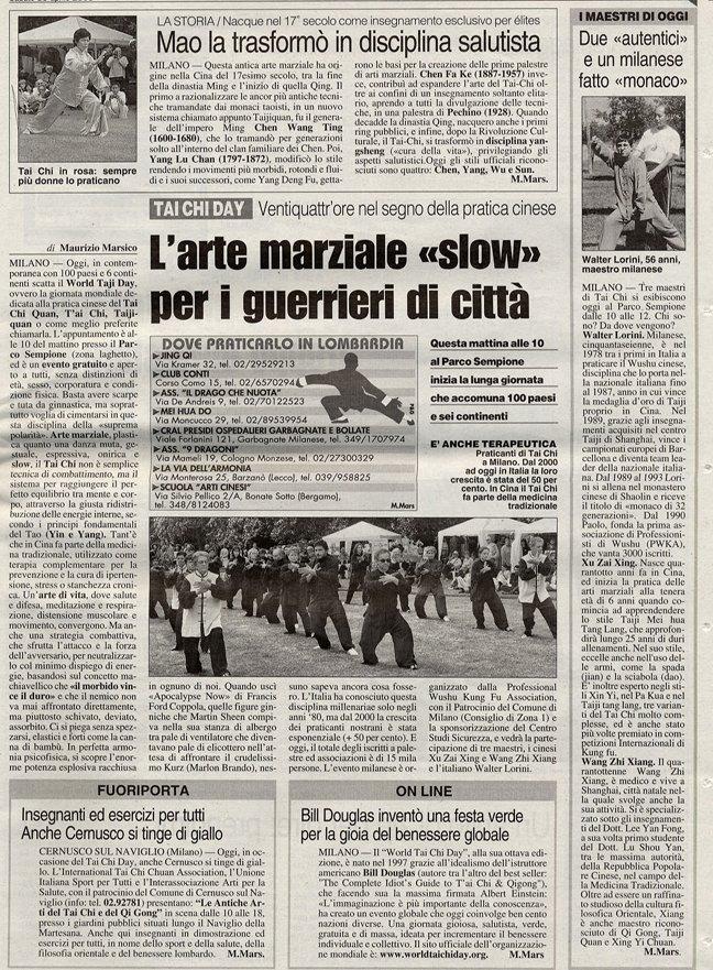 Italian Media on WTCQD 2