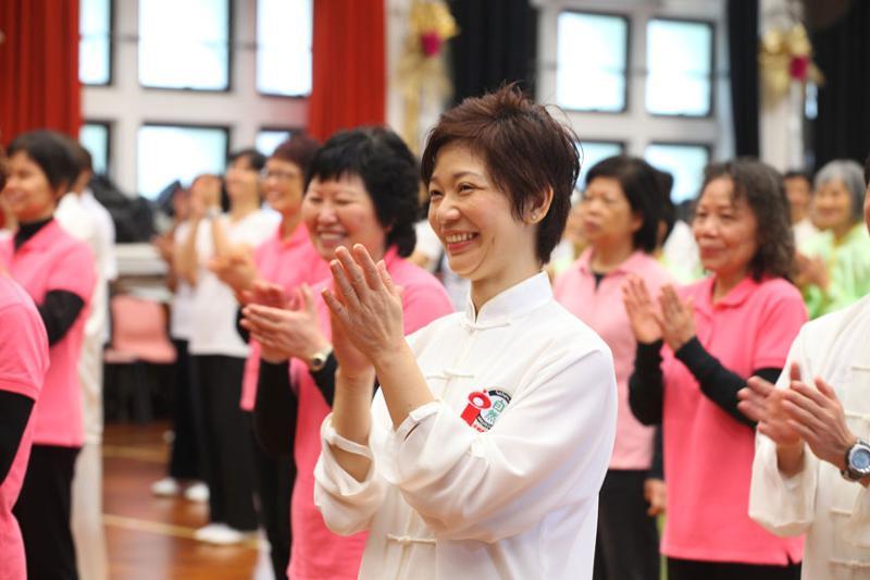Hong Kong women in Pink