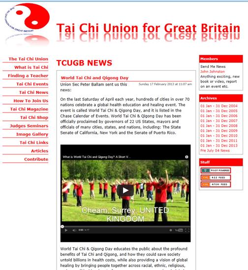 Tai Chi Union of Great Britain