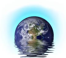 Earth Blue Glow