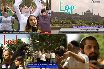 World Tai Chi Day Egypt-Israel
