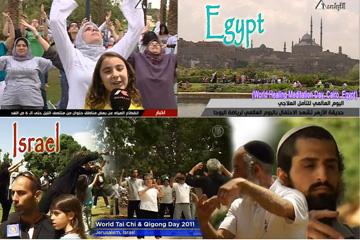 World Tai Chi Day Egypt-Israel