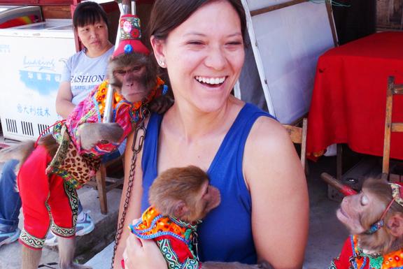 China, Yang Shou Monkeys